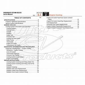 2007-2008 Workhorse R26 Ufo Engine Cooling Service Manual Download