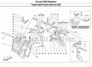 Buy Original Ferrari 360 Modena 029 Pedals Not For Gd