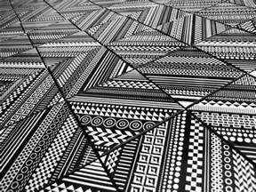 furniture kitchen sets surprising geometric patterns displayed by deco tile