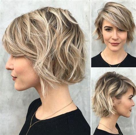 trendy short haircut ideas   straight curly