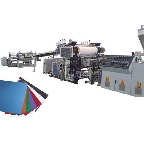 pvc sheet extrusion   china manufacturer gpm machineryshanghaicoltd