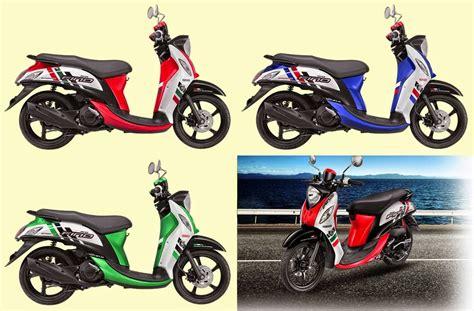 Modifikasi Motor Fino Sporty by Modifikasi Motor Yamaha Mio Fino Sporty Gambar Modifikasi