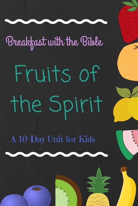 fruit   spirit  kids preschool activities fruit