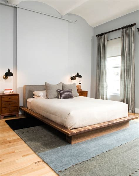cool wood beds cool solid wood platform bed decorating ideas images in bedroom rustic design ideas