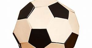 Origami Football  Soccer Ball