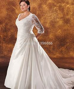 plus size vintage wedding dresses with sleeve 2015 With plus size beaded wedding dresses