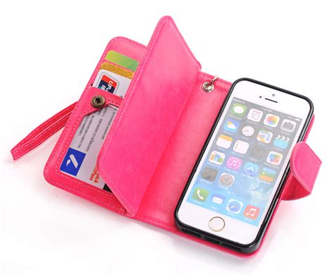 iphone 5s cases for guys pu leather handbag card wallet clutch phone 3481