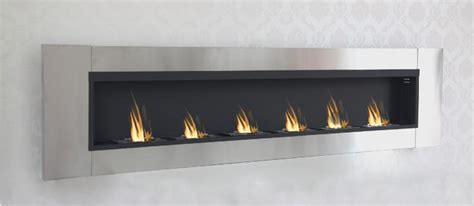 chambre bebe luxe cheminee bio ethanol méga 216 cm 6 brûleurs inox
