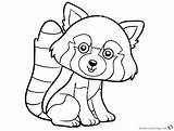 Panda Coloring Pages Printable Clipart Colouring Pandas Cartoon Cute Adults Getdrawings Template sketch template