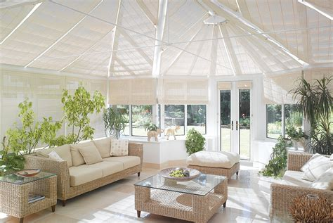 side blinds  conservatories appeal home shading
