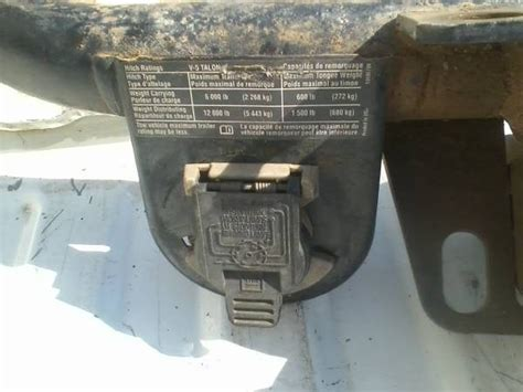 Replacement Way Trailer Connector For Chevy