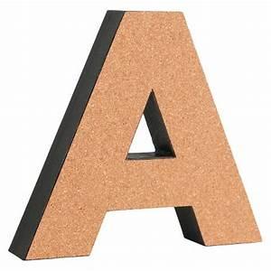 3d cork letter 9quot target for Cork letters target