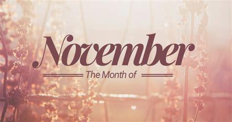 november  month   year