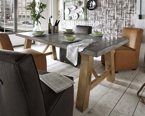 Esszimmer Le Holz Beton by Massivholz Beton Esstisch M 252 Nchen Kaufen Slewo