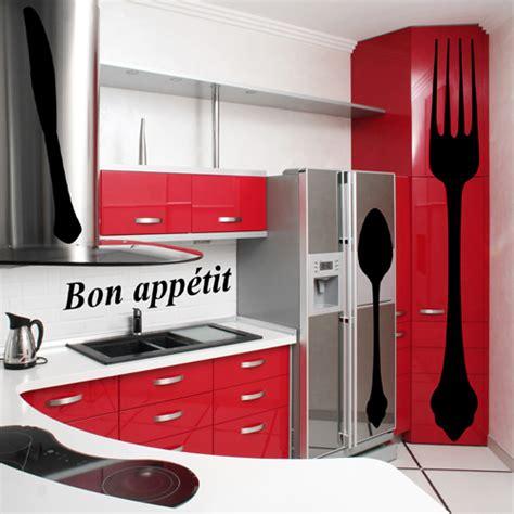 cuisine kit pas cher kit 4 stickers cuisine pas cher