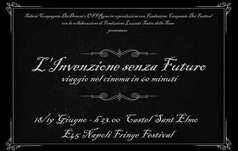 Cornice Muto by Ntfi 2015 L Invenzione Senza Futuro Viaggio Nel
