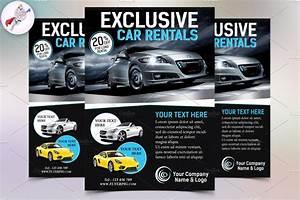 Exclusive Car Rental Flyer Template