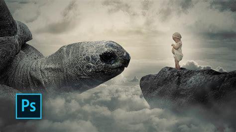 fantasy photo manipulation monsters island