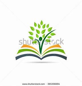 Book Tree Vector Design Represents School Stock Vector ...
