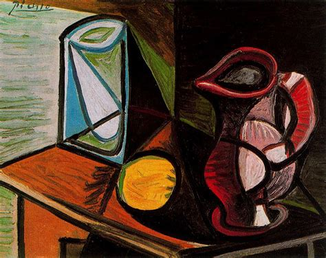 Glass And Pitcher Artist Pablo Picasso Completion Date