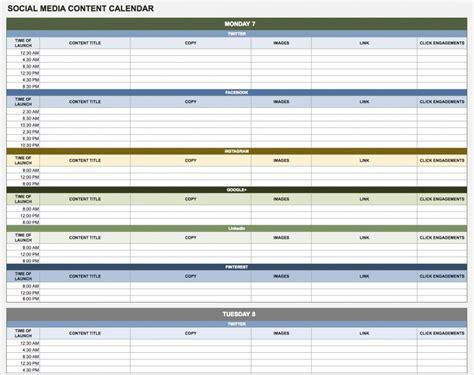 google sheets schedule free calendar templates smartsheet