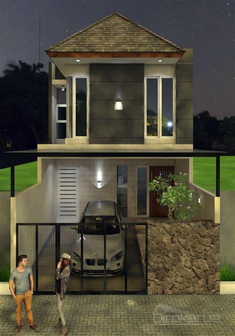 desain rumah  lantai lebar   singosari diro karya