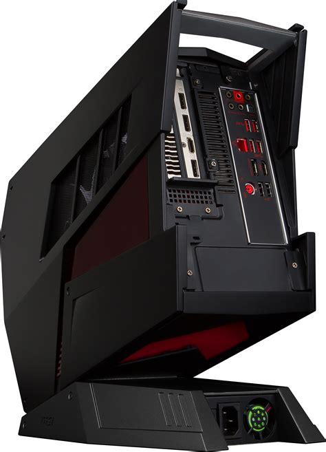 bureau aegis msi aegis l 39 ordinateur de bureau taillé pour le gaming