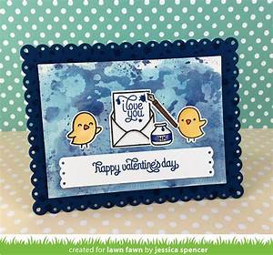 the lawn fawn blog love letters cards by jessica With lawn fawn love letters