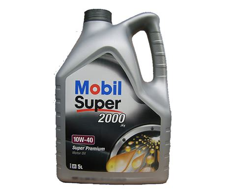 Mobil Motoröl Super 2000 10W40 5 Liter Motorenöl