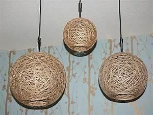 Lampenschirm Basteln Einfach : lampenschirm basteln wie sie aus hanf eine pendelleuchte schaffen ~ Markanthonyermac.com Haus und Dekorationen