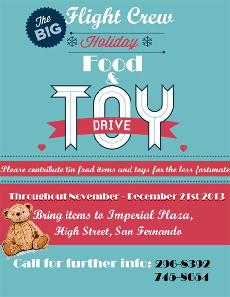 Toy Drive Flyer Template Word by 18 Food Drive Flyer Templates Free Psd Ai Eps Format