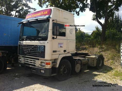 volvo semi trailer volvo f 12 f 12 400 1992 standard tractor trailer unit