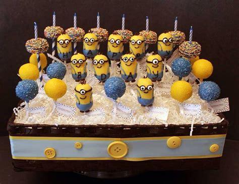 minion cake pops minion cake pops andrew s birthday
