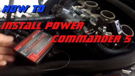 power commander 5 how to install a pcv power commander 5