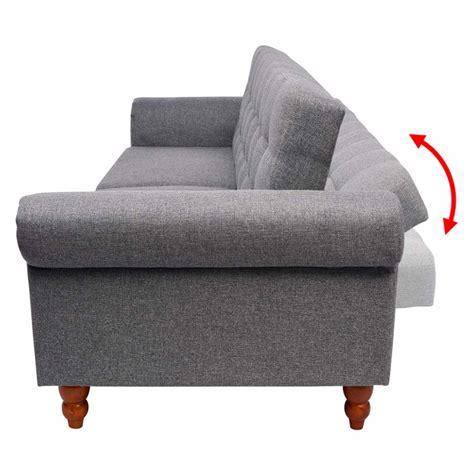 canapé lit gris vidaxl canapé lit tissu gris vidaxl ch