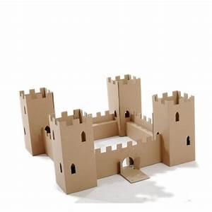 castillo de carton With beautiful faire une maison en 3d 9 fabriquer un chateau en carton
