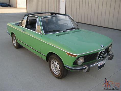 1975 Bmw 2002 Baur Targa Convertible