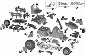 Peg Perego Case Lil Tractor Parts