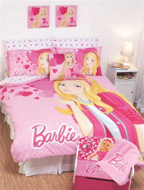 Pretty Adorable Barbie Bedroom Designs For Your Cute