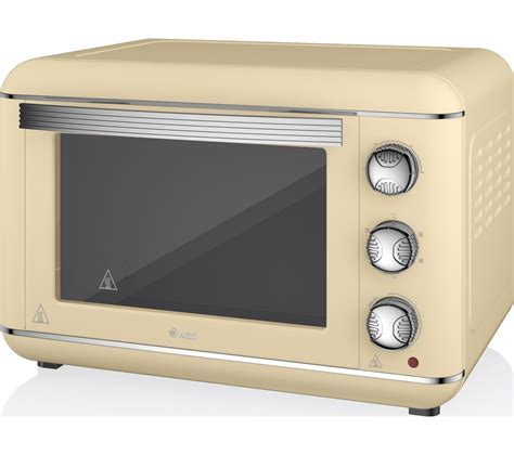 Buy SWAN Retro SF37010CN Electric Oven   Cream   Free