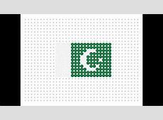 Hama Bead Pakistani Flag Flag Series #12 YouTube