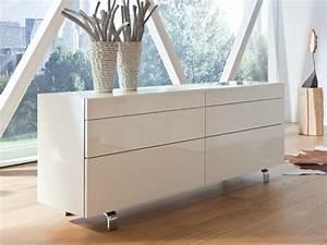 Sideboard Hängend Weiß Hochglanz : sideboard in wei hochglanz 14 schicke elegante modelle ~ Watch28wear.com Haus und Dekorationen