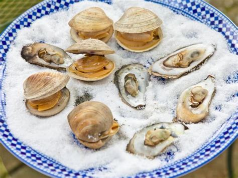 grilled clams  oysters recipes cooking channel