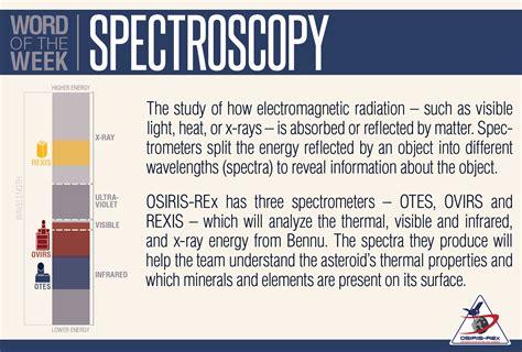 Word of the Week: Spectroscopy - OSIRIS-REx Mission
