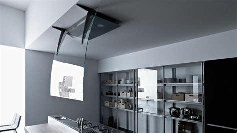plus cuisine moderne hotte îlot pratique et convivial pour une cuisine moderne