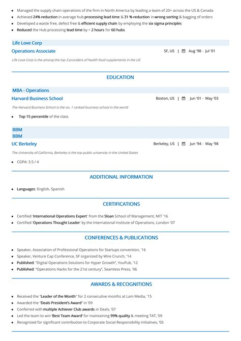 Chronological Resume Guide by Chronological Resume The 2019 Guide To