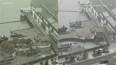 Two construction workers injured when Seattle's Pier 58 ...