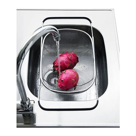 The Sink Colander Ikea by Ikea Idealisk Expandable Sink Colander Drainer