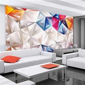 Custom 3d mural 3D modern minimalist geometric personality ...