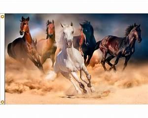 Running Horses Flag - 3x5 - Holiday & Celebration Flags